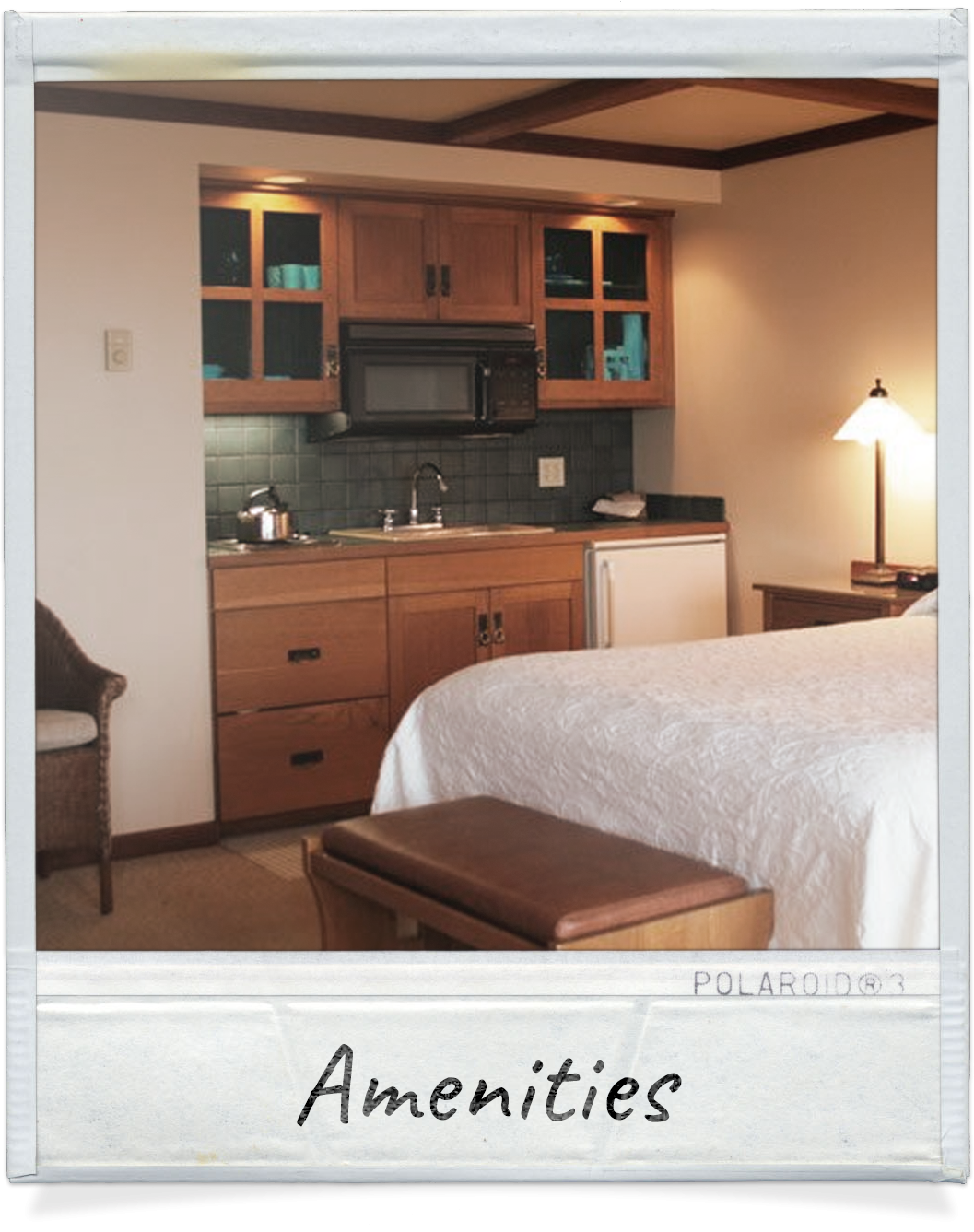 Amenities at Waves Cannon Beach