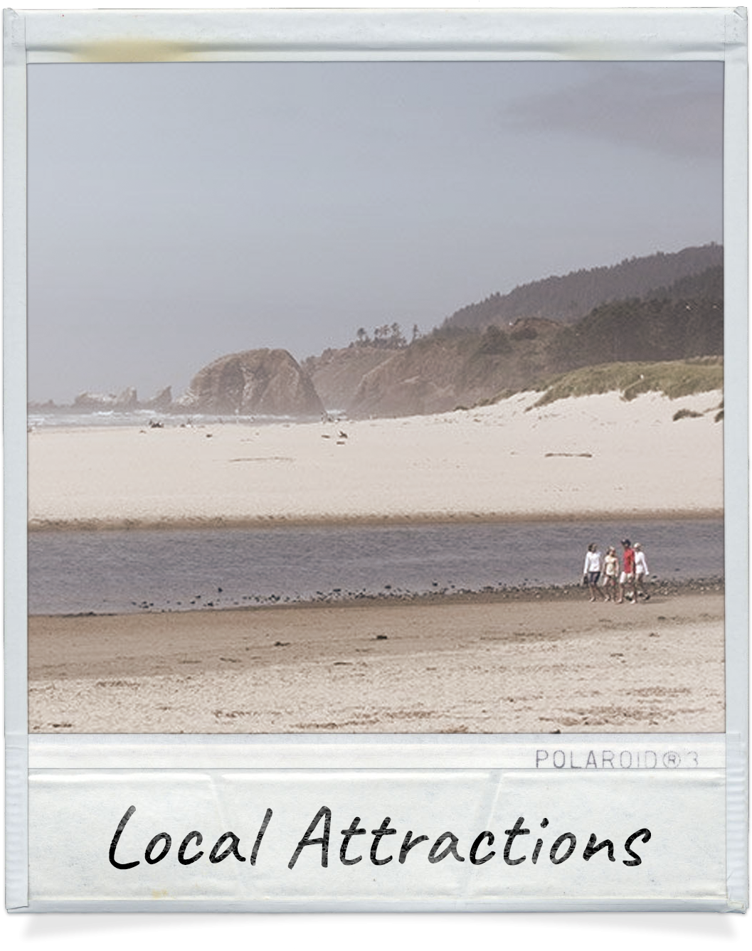 Local attractions near Cannon Beach, OR